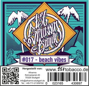 187 Strassenbande Tabak Beach Vibes 200 g