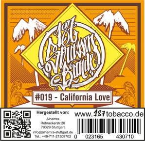 187 Strassenbande Tabak California Love 200 g