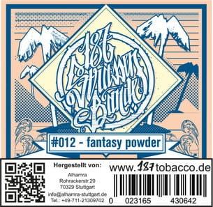 187 Strassenbande Tabak Fantasy Powder 200 g