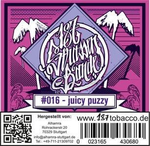 187 Strassenbande Tabak Juicy Puzzy 200 g