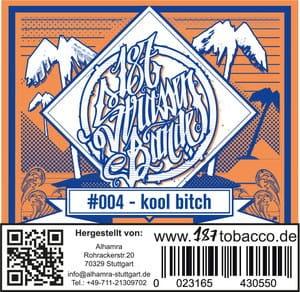 187 Strassenbande Tabak Kool Bitch 200 g