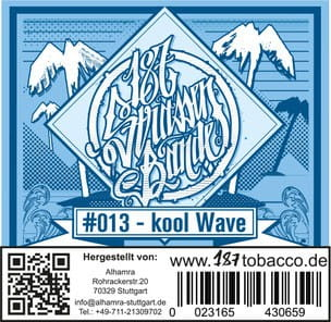 187 Strassenbande Tabak Kool Wave 200 g