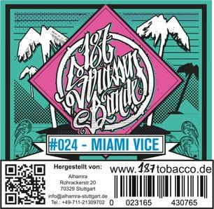 187 Strassenbande Tabak Miami Vice 200 g