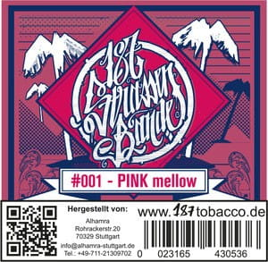 187 Strassenbande Tabak Pink Mellow 200 g