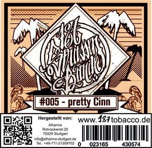 187 Strassenbande Tabak Pretty Cinn 200 g