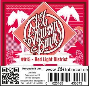 187 Strassenbande Tabak Red Light District 200 g
