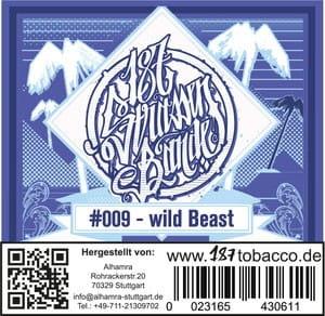 187 Strassenbande Tabak Wild Beast 200 g