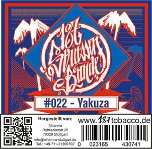 187 Strassenbande Tabak Yakuza 200 g