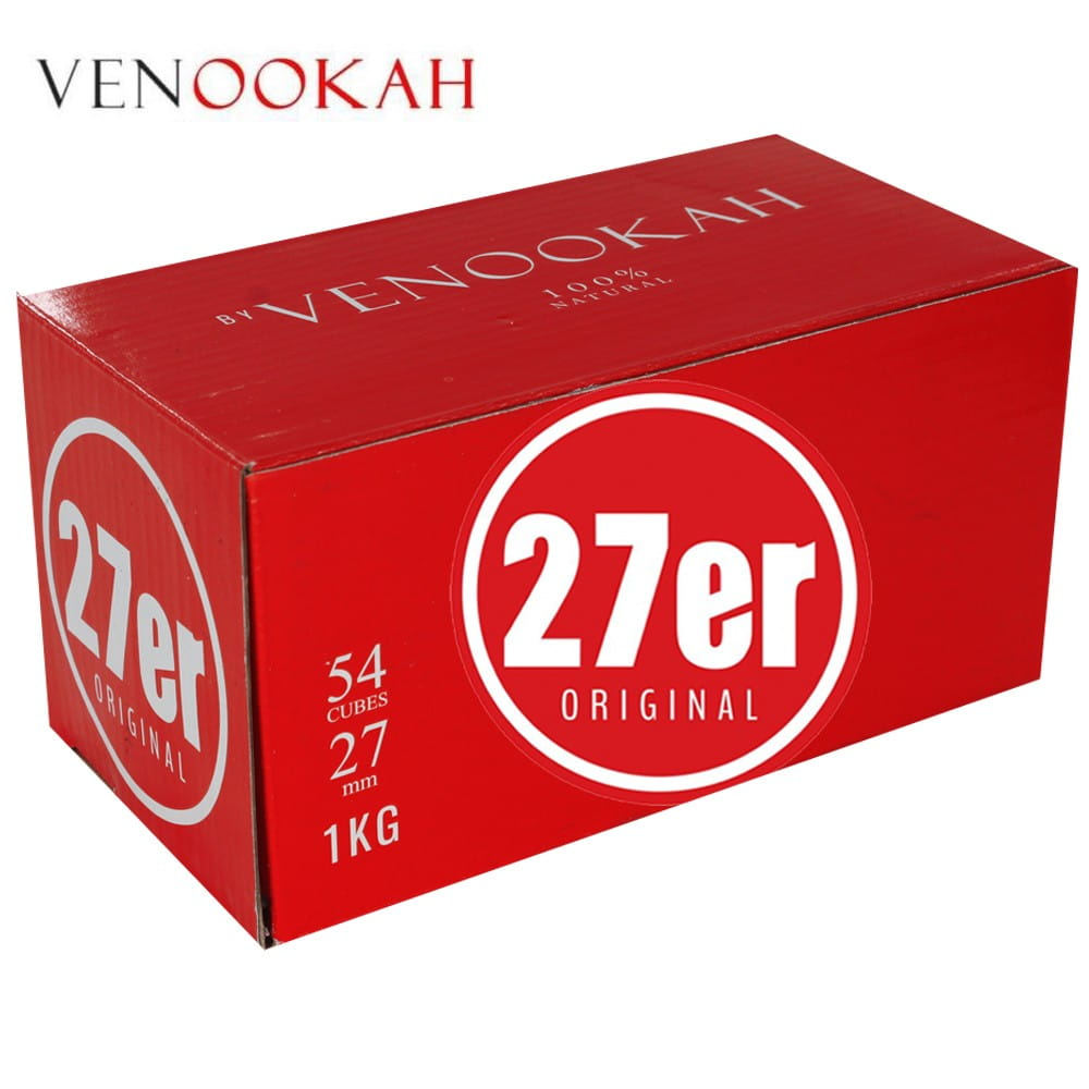 27er Shisha Kohle Venookah Original - 1 KG