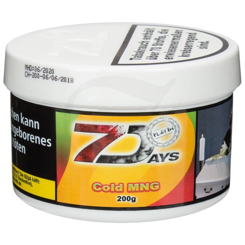 7 Days Platin Tabak - Cold Mng 200 g