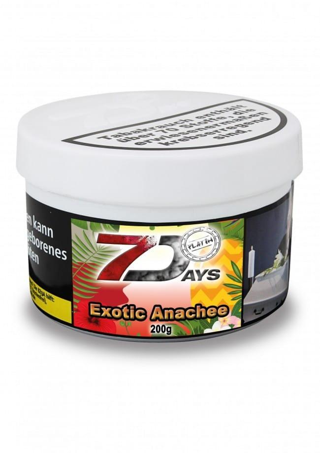 7 Days Platin Tabak - Exotic Anachee 200 g