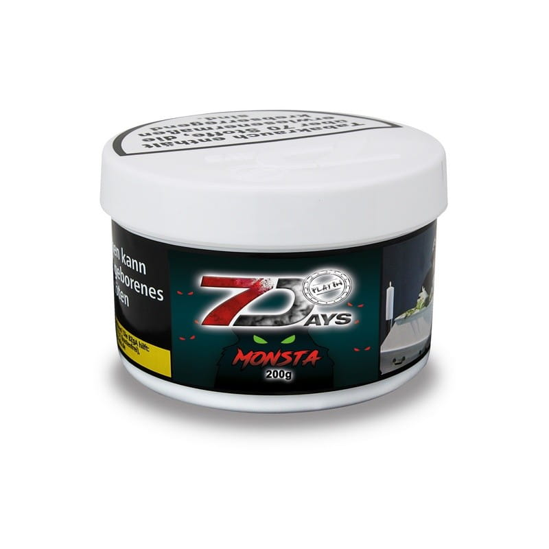 7 Days Platin Tabak - Monsta 200 g