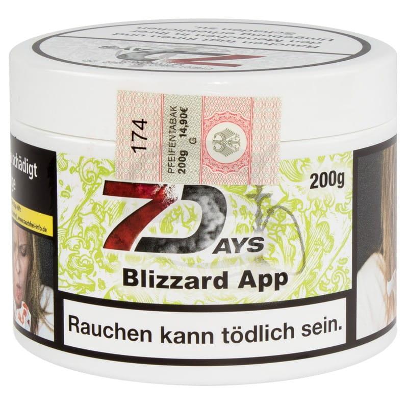 7 Days Tabak - Blizzard App 200 g
