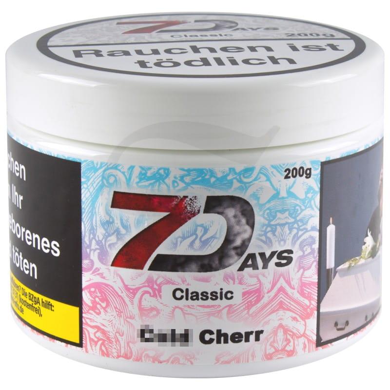 7 Days Tabak - Cold Cherr 200 g