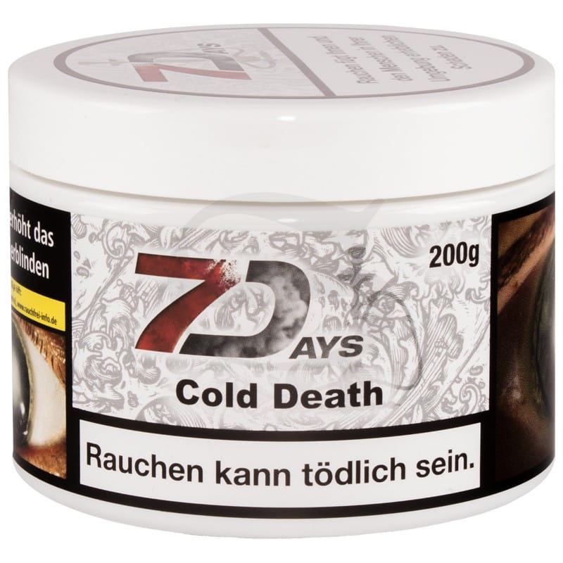 7 Days Tabak - Cold Death 200 g Classic