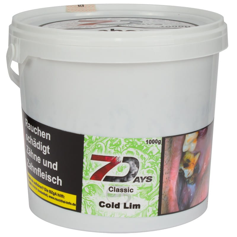 7 Days Tabak - Cold Lim 1 Kg