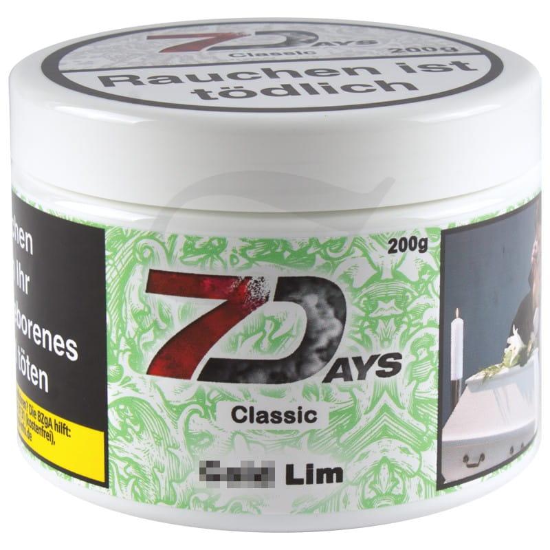 7 Days Tabak - Cold Lim 200 g