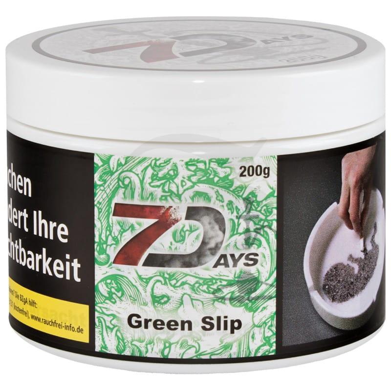 7 Days Tabak - Green Slip 200 g