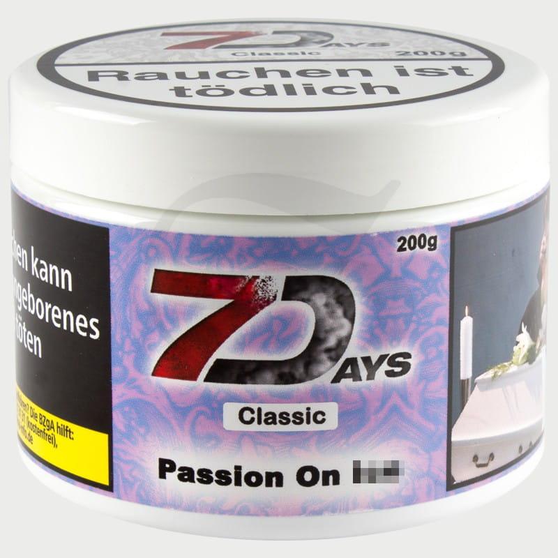 7 Days Tabak - Passion on Ice 200 g