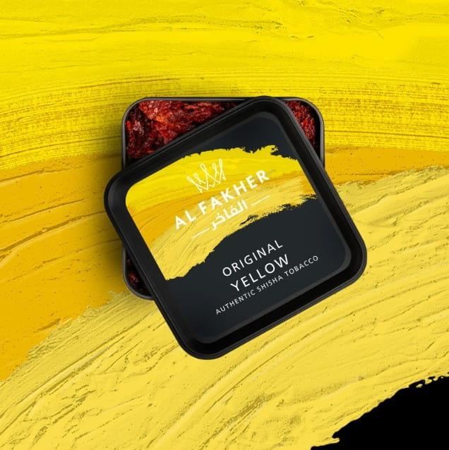 Al Fakher Tabak - Yellow 200 g