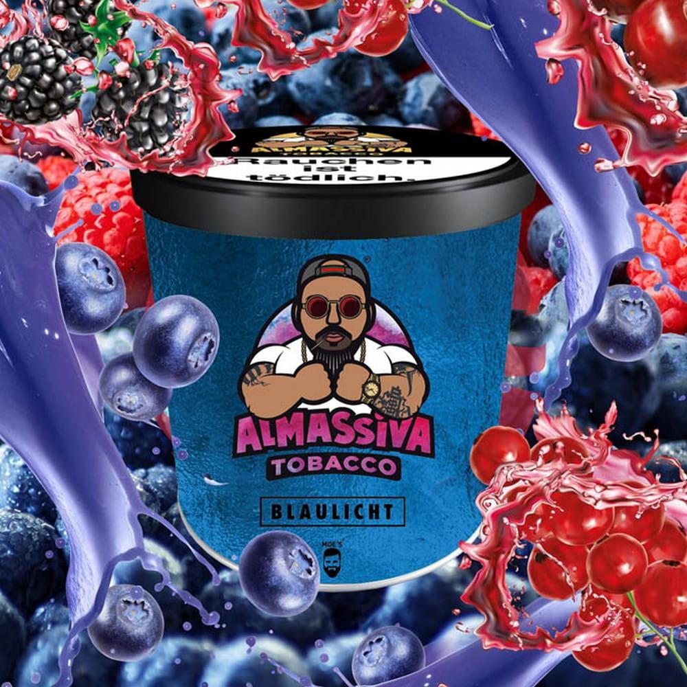 AlMassiva Blaulicht Tabak - 200 g