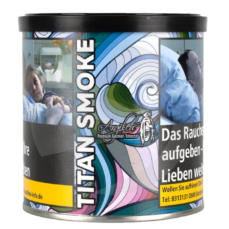 Argileh Tabak 200 g - Titan Smoke