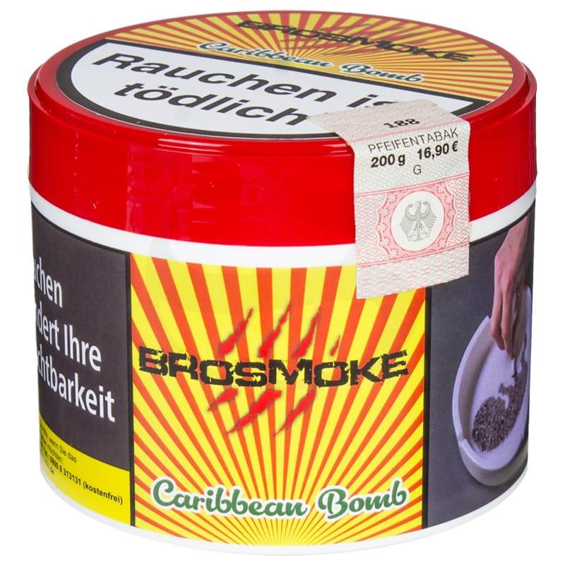 BroSmoke Tabak - Caribbean Bomb 200 g