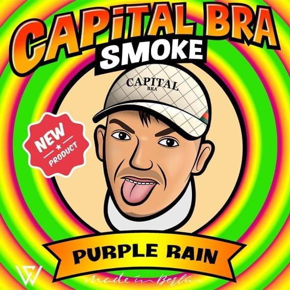 Capital Bra Smoke - Purple Rain 200 g