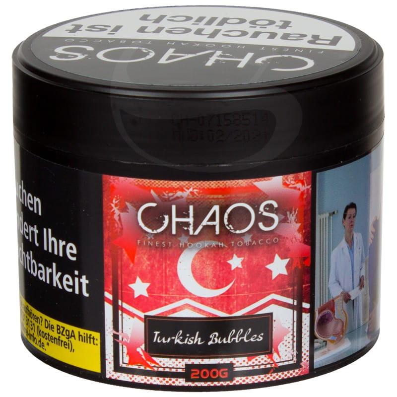Chaos Tabak Turkish Bubbles 200 g Dose