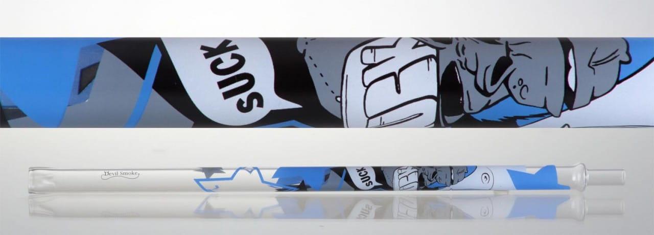 Devil Smoke Mundstück Graffiti Line - Smoking Monkey