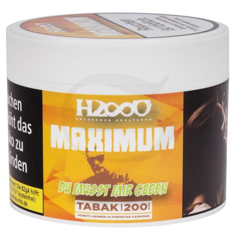 Hasso Maxixum Tabak - Du musst mir geben 200 g