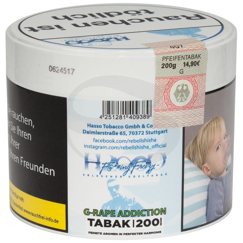 Hasso Tabak - G-Rape Addiction 200 g
