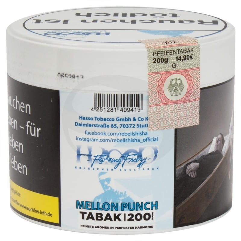 Hasso Tabak - Mellon Punch 200 g