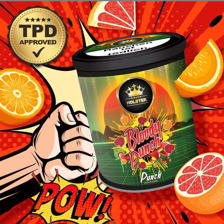 Holster Tabak - Bloody Punch 200 g