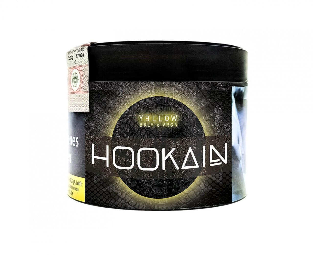 Hookain Burley Tabak - Yellow 200 g