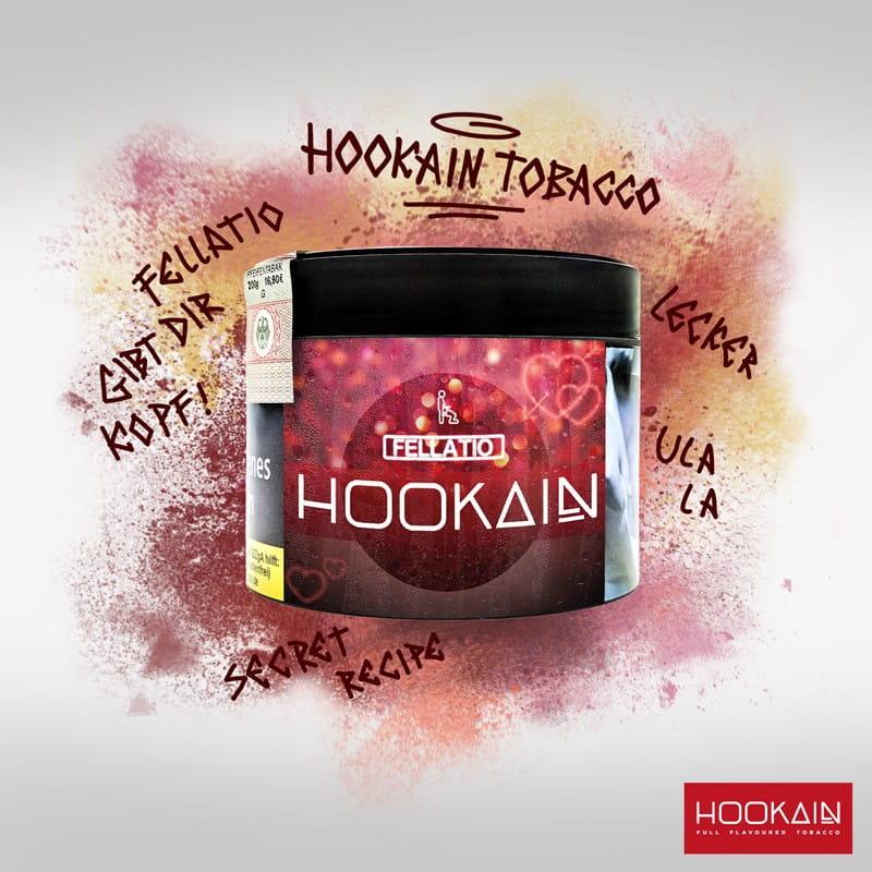 Hookain Tabak - Fellatio 200 g