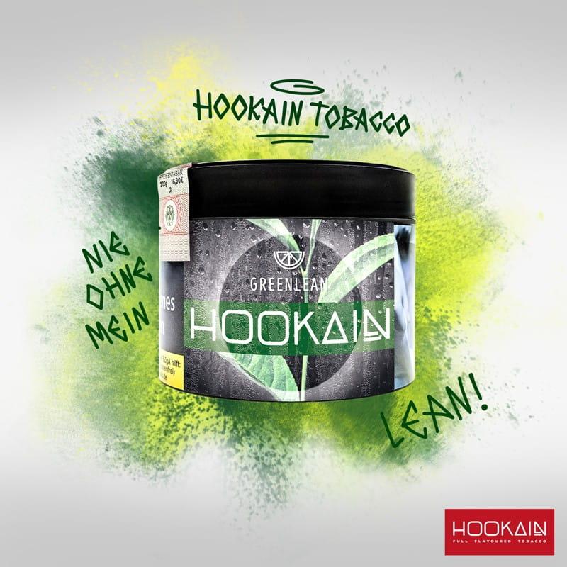 Hookain Tabak - Green Lean 200 g