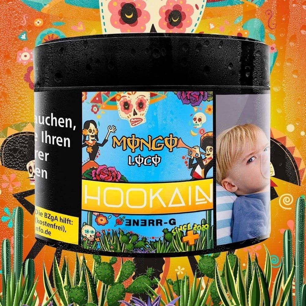 Hookain Tabak - Mongo Loco RR 200 g