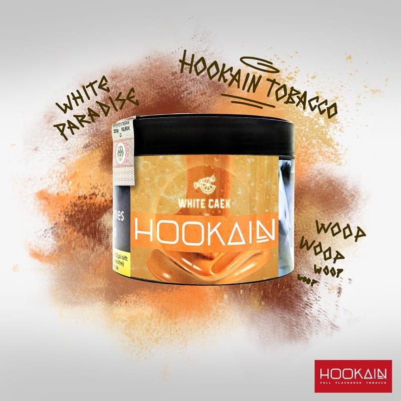 Hookain Tabak - White Caek 200 g