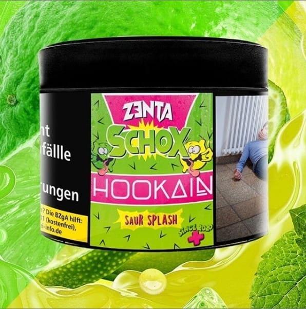 Hookain Tabak - Zenta Schox 200 g