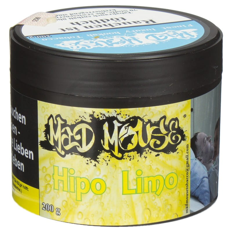Mad Mouse Tabak - Hipo Limo 200 g