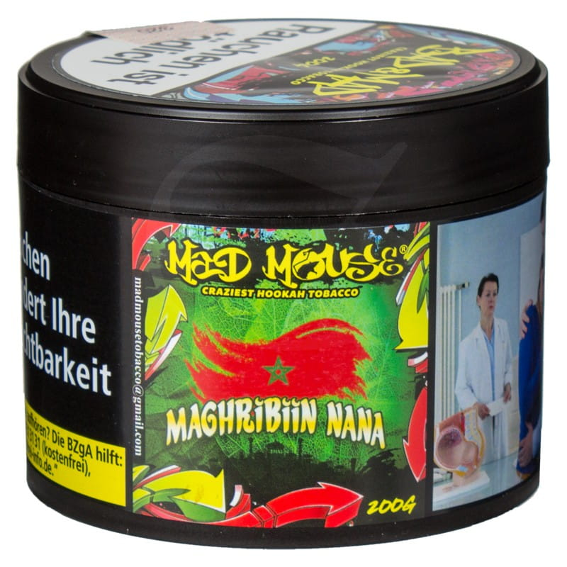Mad Mouse Tabak - Magribiin Nana 200 g