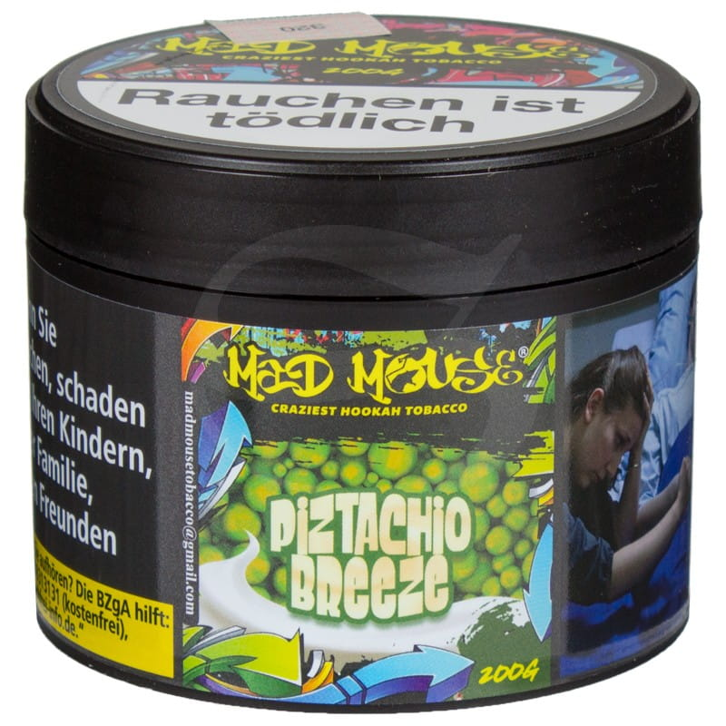 Mad Mouse Tabak - Pizstachio Breeze 200 g
