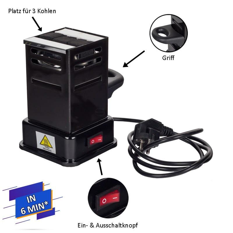 Prime Fire Toaster - Kohlenanzünder
