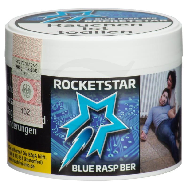 Rocketstar Tabak - Blue Rasp Ber 200 g
