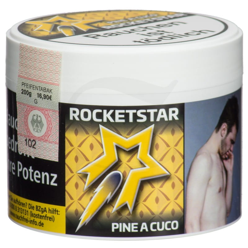 Rocketstar Tabak - Pine a cuco 200 g