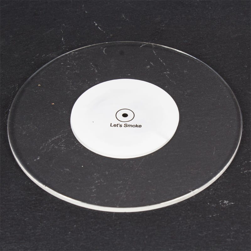 Shisha LED Untersetzer - Lets Smoke Circle