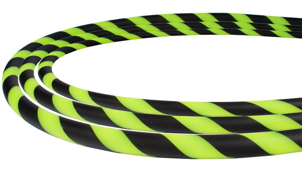 Silikonschlauch Soft-Touch - Grün Schwarz stripes