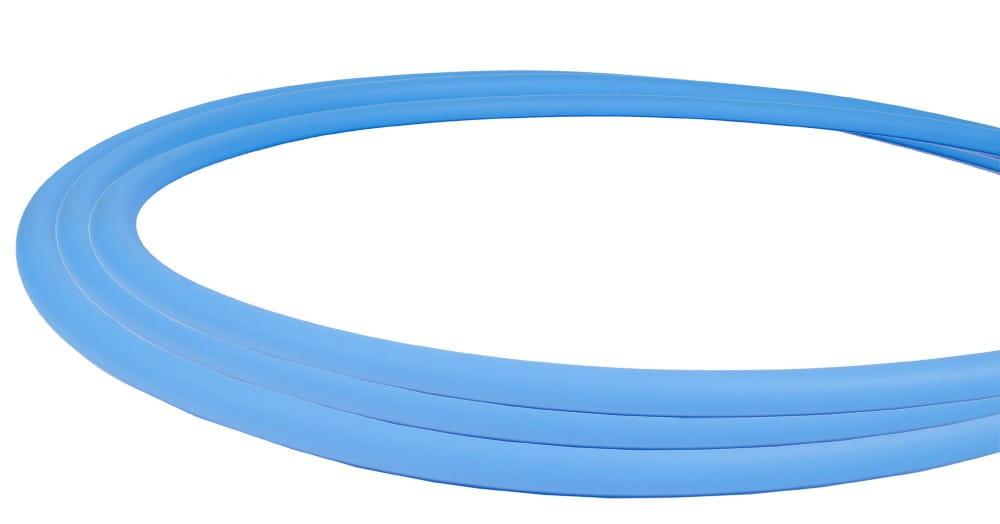 Silikonschlauch Soft-Touch Matt - Hellblau