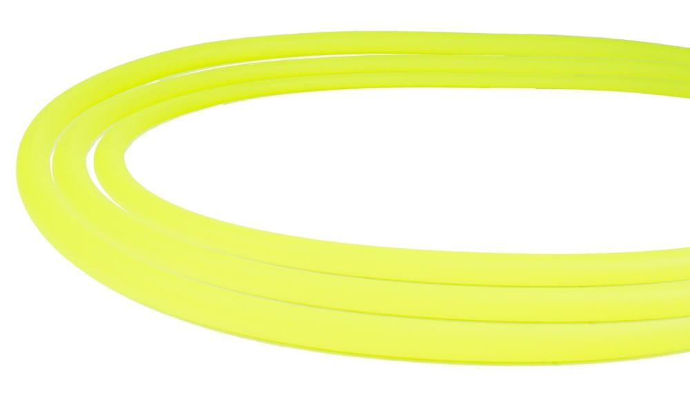 Silikonschlauch Soft-Touch Matt - Neon Gelb